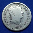 Photo numismatique  Monnaies Monnaies Françaises 1er Empire Demi franc NAPOLEON I, Demi Franc 1808 BB, Strasbourg, Gad.398 TB