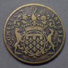 Photo numismatique  Monnaies Jetons Jeton de Louis XV Jeton LOUIS XV, jeton rond de 31 mm, Artois, TB+/TTB