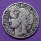 Photo numismatique  Monnaies Monnaies Françaises Troisième République 50 centimes Cérès 50 centimes Cérès 1894 A, Gad.419a TB/TB+