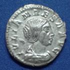 Photo numismatique  Monnaies Empire Romain JULIA MAESA, IULIA MAESA Denier, denar, denario, denarius JULIA MAESA, denier Rome en 222, Pudicitia sasise à gauche, 2,66 gr, RIC.268 SUPERBE