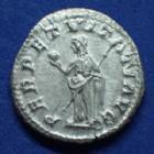 Photo numismatique  Monnaies Empire Romain ALEXANDRE SEVERE, SEVERUS ALEXANDER, SEVERO ALEXANDRO Denier, denar, denario, denarius ALEXANDRE SEVERE, SEVERUS ALEXANDER, denier Rome en 228-231, PERPETVITATI AVG, 2,90 grms, RIC.208 Q.SUPERBE/SUPERBE