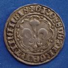 Photo numismatique  Monnaies Monnaies/medailles d'Alsace Strasbourg Groschen STRASBOURG, Groschen (12 denier) 16/17e siècle, EL.384, 3,49 grms  TTB+