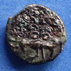 Photo numismatique  Monnaies Monnaies Gauloises Senones, Senons Bronze YLLICCI SENONES, SENONS, bronze YLLICCI, oiseau (aigle) à gauche, 3,99 grms, DT.2635 corrosion (stable) au revers sinon SUPERBE+/TTB