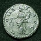 Photo numismatique  Monnaies Empire Romain SEPTIME SEVERE, SEPTIMUS SEVERUS, SEPTIMO SEVERO Denier, denar, denario, denarius SEPTIME SEVERE, SEPTIMIUS SEVERUS, denier Emèse en 194-195, MONET AUG, 2,44 grms, RIC.419a TTB+