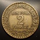 Photo numismatique  Monnaies Monnaies Françaises Troisième République 2 Francs 2 Francs Domard 1927, Gad.533 TTB Rare!