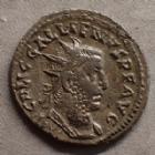 Photo numismatique  Monnaies Empire Romain GALLIEN, GALLIENUS, GALLIAN, GALLIANO Antoninien, antoninianus, antoniniane GALLIEN, GALLIENUS, antoninien Rome, VICTORIAE AVGG IT GERM, 2,87 grms, RIC.178 (j) TTB+ Rare!
