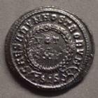 Photo numismatique  Monnaies Empire Romain CONSTANTIN II, CONSTANTINUS II, CONSTANTINO II Follis ou Nummus CONSTANTIN II, CONSTANTINUS II, Follis ou nummus Siscia en 321-324, CAESARUM NOSTRORUM / VOT X, 19-20 mm, 3,68 grms, RIC.182 SUP/P.SUP
