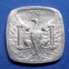 Photo numismatique  Monnaies Monnaies de nécéssité Besançon 10 Centimes BESANCON, 10 centimes 1917, Aluminium, SUPERBE