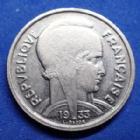 Photo numismatique  Monnaies Monnaies Françaises Troisième République 5 francs Bazor 5 Francs Bazor 1933, espace entre L et BAZOR, Gad.753 SUPERBE