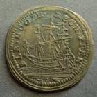 Photo numismatique  Monnaies Jetons Jeton de Nuremberg, Nurnberg Albert Hoger LOUIS XV, Jeton de Nuremberg, Nurnberg, Albrecht Hoger, voilier, shiff, 19 mm P.SUPERBE