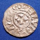 Photo numismatique  Monnaies Monnaies Carolingienne Louis IV d'Outremer Denier de Langres LOUIS IV d'outremer 936-954, denier de Langres, 20 mm, 1,01 grms, M&G 1636 var. / Nou.11 var. TTB+