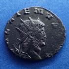 Photo numismatique  Monnaies Empire Romain GALLIEN, GALLIENUS, GALLIAN, GALLIANO Antoninien, antoninianus, antoniniane GALLIEN, GALLIENUS, Antoninian Rome en 267-268, Centaure à droite, 17-19 mm, 2,56 grms, RIC.163 Flan court sinon SUPERBE/TTB+