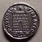 Photo numismatique  Monnaies Empire Romain CONSTANTIN I, CONSTANTINUS I, CONSTANTINO Follis ou Nummus CONSTANTIN I, CONSTANTINUS I, follis ou nummus Rome en 326, PROVIDENTIAE AVGG, 17-18 mm, 2,73 grms, RIC.287 SUPERBE à FDC