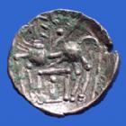 Photo numismatique  Monnaies Monnaies Gauloises Elusates Drachme au cheval ELUSATES, Région du Gers, drachme au cheval 2/1e siècle avant JC, 17-18 mm, 2,71 grms, LT.3587 TB+/TTB
