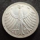 Photo numismatique  Monnaies Allemagne après 1871 Allemagne, Deutschland, Bundesrepublik, BDR 5 Mark