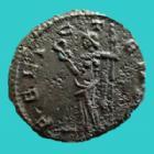 Photo numismatique  Monnaies Empire Romain CLAUDE II LE GOTHIQUE, CLAUDIUS GOTHICUS, CLAUDIO GOTHICO Antoninien, antoninianus, antoniniane CLAUDE II le Gothique, CLAUDIUS II Gothicus, antoninien Milan en 268-269, FELIC TEMPO, 18-19 mm, 3,71 grms, RIC.145 SUPERBE+/TTB