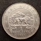 Photo numismatique  Monnaies Monnaies étrangères Afrique de l'Est Anglaise, British east Africa 1 Shilling, one shilling Afrique de L'est, British east Africa, Georg V, 1 shilling 1925, KM.20/21 TTB