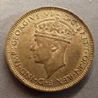 Photo numismatique  Monnaies Monnaies étrangères Afrique de l'ouest Anglaise, British west Africa 1 Shilling, one shilling Afrique de l'ouest Anglaise, British west Africa, Georg VI, One shilling 1946, TTB à SUPERBE