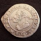 Photo numismatique  Monnaies Monnaies Féodales Franche comté besançon 2 Gros, 1/4 de Teston Besançon, Franche Comté, Carolus V, 1/4 de teston ou double gros 1624, 2,27 grms, PA.5416 TTB+