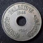 Photo numismatique  Monnaies Monnaies étrangères Palestine, Palestina 10 Mils Palestine, Palestina, 10 mils 1940, KM.4 TTB