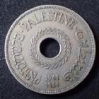 Photo numismatique  Monnaies Monnaies étrangères Palestine, Palestina 20 Mils Palestine, Palestina, 20 mils 1941, KM.5 TTB