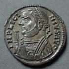 Photo numismatique  Monnaies Empire Romain LICINIUS I, LICINIO I,  Follis ou Nummus LICINIUS I, follis ou nummus Alexandrie en 317-320, IOVI CONSERVATORI, buste consulaire, 19 mm, 3,07 grms, RIC.23 SUPERBE+/SUPERBE