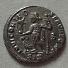 Photo numismatique  Monnaies Empire Romain CONSTANTIN I, CONSTANTINUS I, CONSTANTINO Follis, folles,  CONSTANTINUS I, CONSTANTIN I, Follis Siscia en 313-315, IOVI CONSERVATORI, 20 mm, 3,26 grms, RIC.8 P. SUPERBE