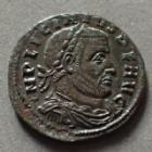Photo numismatique  Monnaies Empire Romain LICINIUS I, LICINIO I,  Follis, folles,  LICINIUS I, Follis ou nummus Rome en 315, SOLI INVICTO COMITI, 19 mm, 2,83 grms, RIC.36 SUPERBE