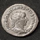 Photo numismatique  Monnaies Empire Romain GORDIEN III, GORDIAN III, GORDIANUS III, GORDIANO III Antoninien, antoninianus, antoniniane GORDIEN III, GORDIAN III, antoninian Rome en 240-244, VIRTUTI AUGUSTI, 4,32 grms, RIC.95 SUPERBE