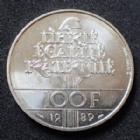 Photo numismatique  Monnaies Monnaies Françaises Cinquième république 100 francs Droits de l'Homme 100 Francs Droits de l'Homme 1989, Gad.904 SPL