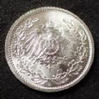 Photo numismatique  Monnaies Allemagne après 1871 Allemagne, Deutschland, Kaiserreich, Empire 1/2 Mark Kaiserreich, 1/2 Mark 1915 A, Jaeg.16 SUPERBE à FDC