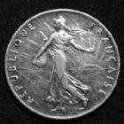 Photo numismatique  Monnaies Monnaies Françaises Troisième République 50 centimes Semeuse de Roty 50 centimes semeuse de Roty 1909, Gad.420 TB à TTB