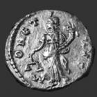 Photo numismatique  Monnaies Empire Romain SEPTIME SEVERE, SEPTIMUS SEVERUS, SEPTIMO SEVERO Denier, denar, denario, denarius SEPTIMIUS SEVERUS, SEPTIME SEVERE, Denier Emèse en 194, MONETA AVG, 2,64 grms, RIC.411a TTB