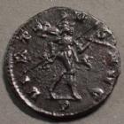Photo numismatique  Monnaies Empire Romain CLAUDE II LE GOTHIQUE, CLAUDIUS GOTHICUS, CLAUDIO GOTHICO Antoninien, antoninianus, antoniniane CLAUDIUS Gothicus, CLAUDE II le Gothique, antoninian Milan (Mediolanum) en 268-269, VIRTUS AUG / P, Mars à droite, 19 mm, 3,34 grms, RIC.172 SUPERBE