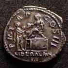 Photo numismatique  Monnaies Empire Romain HADRIEN, HADRIANUS, HADRIANO, HADRIAN Denier, denar, denario, denarius HADRIAN, HADRIEN, HADRIANUS, denier Rome en 121, PM TR P COS III / LIBERAL AVG III, 18,5 mm, 3,20 grms, RIC.129 Var. P.SUP/TTB+ R!