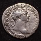 Photo numismatique  Monnaies Empire Romain TRAJAN, TRAJANUS, TRAIAN, TRAIANO Denier, denar, denario, denarius TRAJAN, TRAJANUS, denier Rome en 112-117, AET AVG SPQR OPTIMI PRINCIPI, légende du revers peu courante, 19mm, 2,87 grms, Cohen 5 TTB+ R!