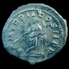 Photo numismatique  Monnaies Empire Romain ELAGABAL, ELAGABALUS, ELAGABALO Antoninien, antoninianus, antoniniane ELAGABAL, ELAGABALUS, Antoninien Rome en 219, PM TR P II COS II PP, Providentiae, 23mm, 4,62 grms, RIC.22 TTB