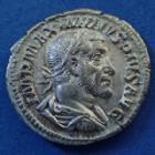 Photo numismatique  Monnaies Empire Romain MAXIMIN I, MAXIMINUS I, MAXIMINO I Denier, denar, denario, denarius MAXIMINUS Thrax, MAXIMIN I le Thrace, denier Rome en 235-236, FIDES MILITUM, 19mm, 3,36 grms, RIC.7A SUP/P.SUP