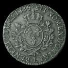 Photo numismatique  Monnaies Monnaies Royales Louis XVI Ecu aux branches d'olivier LOUIS XVI, Ecu aux branches d'olivier 1785 L Bayonne, 29,00 grms, Gad.356 P.TTB/TTB+