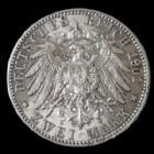 Photo numismatique  Monnaies Allemagne après 1871 Allemagne, Deutschland, Empire, Kaisereich 2 mark  Preussen, Prusse, 2 mark 1901, 200 ans de l'Empire, Jaeg.105 Quasi SUP