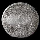 Photo numismatique  Monnaies Monnaies étrangères Autriche, Osterreich, Habsbourg 3 Kreuzers Osterreich, Autriche, Habsbourg, Hall, 3 kreuzer 1664, Sigismond Franz, M.T 535 TB à TTB