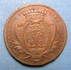 Photo numismatique  Monnaies Jetons Jeton de Mairie Jeton cuivre MAIRIE D'ANGERS, 1777, Jean François ALLARD ecuyer maire, jeton 30 mm TTB+