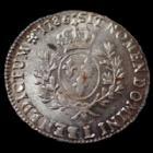 Photo numismatique  Monnaies Monnaies Royales Louis XVI Ecu aux branches d'olivier LOUIS XVI, Ecu aux branches d'olivier 1786 L Bayonne, monnaie avec son brillant d'origine !!, 29,35 grms, L4L 540 SPL