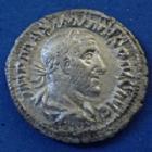 Photo numismatique  Monnaies Empire Romain Maximinus I Thrax, Maximin I le Thrace Denier, denar, denario, denarius MAXIMINUS I Thrax, MAXIMIN I le Thrace, denarius Rome en 236, PM TR P II COS PP, 20mm, 2,33 grms, RIC 3 P.TTB/TB+