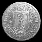 Photo numismatique  Monnaies Monnaies étrangères Schweiz, Suisse, Basel, Bale Doppel assis, double assis Basel, Bâle, Suisse, Schweiz, double assis, doppel assis 1624, 26mm, 2,64 grms, HMZ 2.85 P.SUP/TTB+