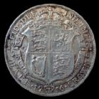 Photo numismatique  Monnaies Monnaies étrangères Grande Bretagne, Great Britain, Angleterre 1/2 Crown Great Britain, Grande Bretagne, Georg V 1/2 crown 1916, argent 925°/°°°, 14,11 grms, KM 818.1 TTB