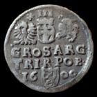 Photo numismatique  Monnaies Monnaies étrangères Pologne, Polland, Polski, Polska 3 Groschen Poland, Pologne, Sigismond III, 3 groschen 1600, 2,10 grms, TTB+