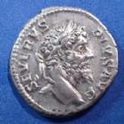 Photo numismatique  Monnaies Empire Romain Septimius Severus, Septime Sévère Denier, denar, denario, denarius SEPTIMIUS SEVERUS, SEPTIME SEVERE, denier Rome en 207, RESTITUTOR URBIS, 18mm, 3,37 grms, RIC 288 TTB