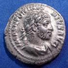 Photo numismatique  Monnaies Empire Romain Elagabalus, Elagabal Denarius, Denier, Denar, Denario ELAGABALUS, ELAGABAL, denier Rome en 221, PM TR P IIII COS III PP, 19mm, 3,42 grms, RIC 46 TTB+