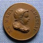 Photo numismatique  Monnaies Médailles 19ème siècle Médaillette NAPOLEON II 20 Mars 1811, Médaillette 19 mm, SUPERBE